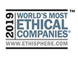 Recognized by the Ethisphere® Institute as a World's Most Ethical Company® for 13 consecutive years