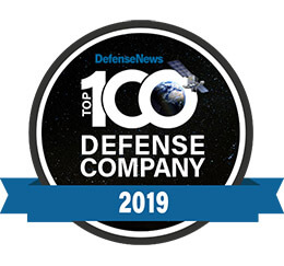 Ranked on the Defense News list of Top 100 Defense Companies in 2019