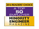 A Top 50 Employer <em>Minority Engineer</em> Magazine - 2016