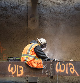 Fluor craft welding