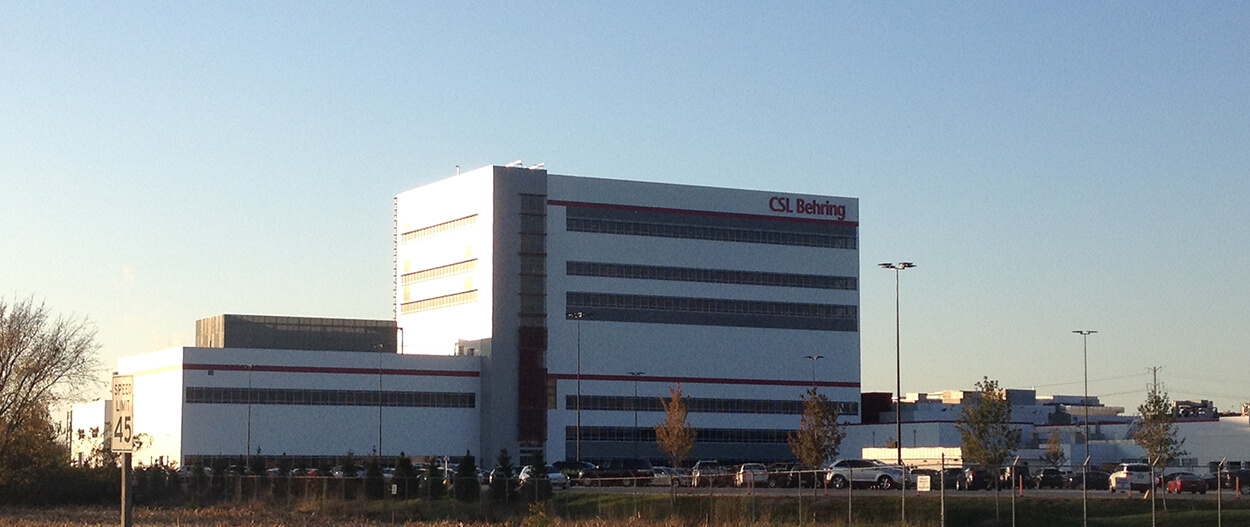 CSL Behring Building 4 Replacement Project - Fluor