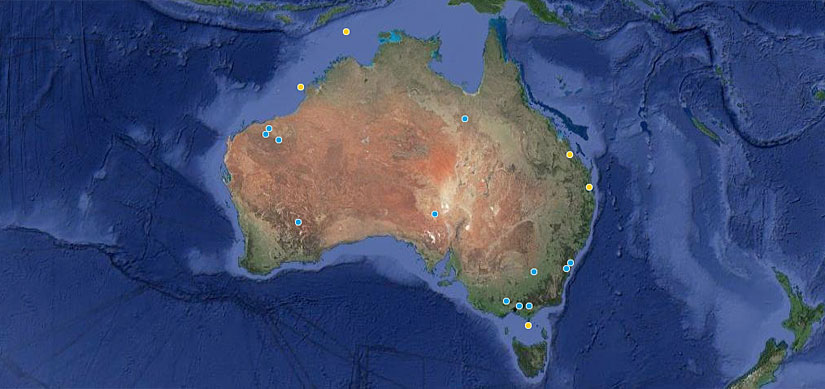 Fluor projects in Australia and globally