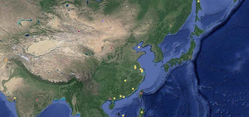 Fluor projects in China and globally