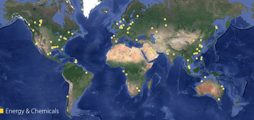 View Fluor Energy & Chemical Projects Around the World