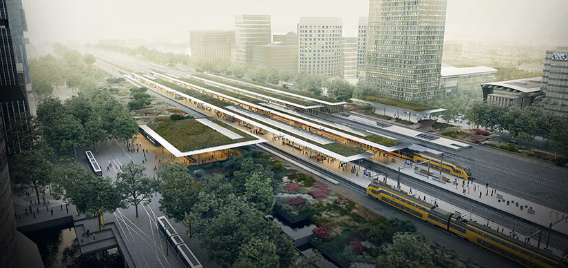 Read about Project Zuidasdok