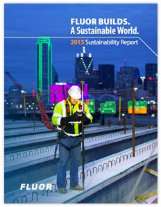 FLUOR BUILDS. A Sustainable World.