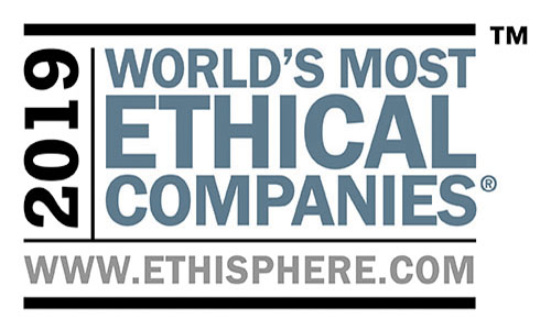 Fluor was recognized by the Ethisphere® Institute as a World's Most Ethical Company® in 2019.
