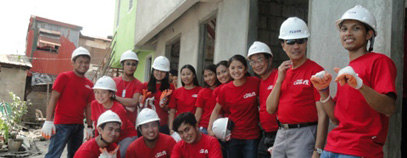 Building Homes for Gawad Kalinga