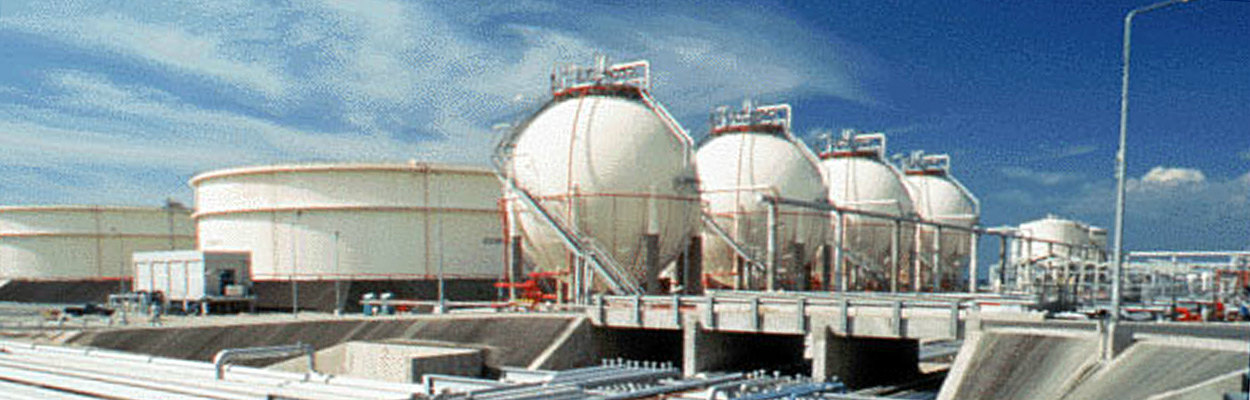 Petroleum Refinery Storage Spheres Construction