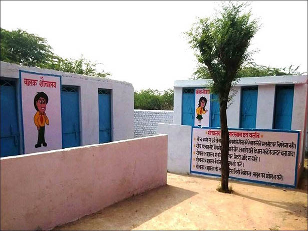 New school sanitation facilities