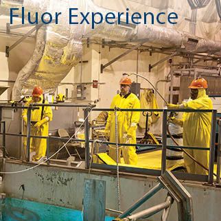 Fluor Nuclear Industry Experience