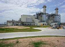 Lower Colorado River Authority Gas-Fired Power Plant