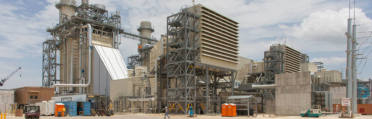 Gas-fueled power plant  - EPC services
