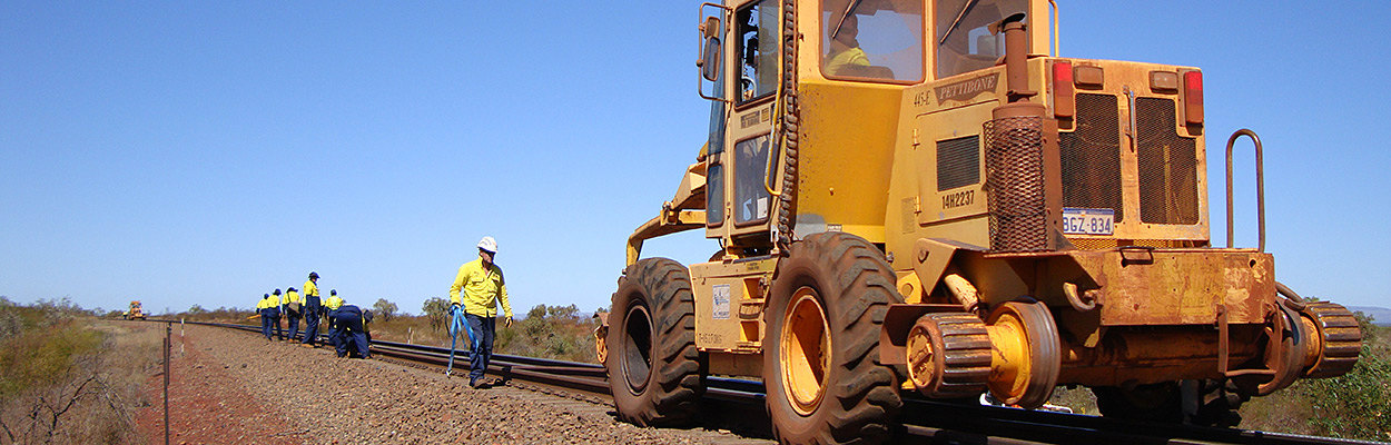 Iron Ore Heavy-Tonnage Railway Construction Equipment